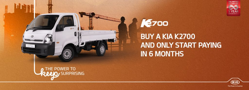 Kia K2700 Holiday Promo July 2020