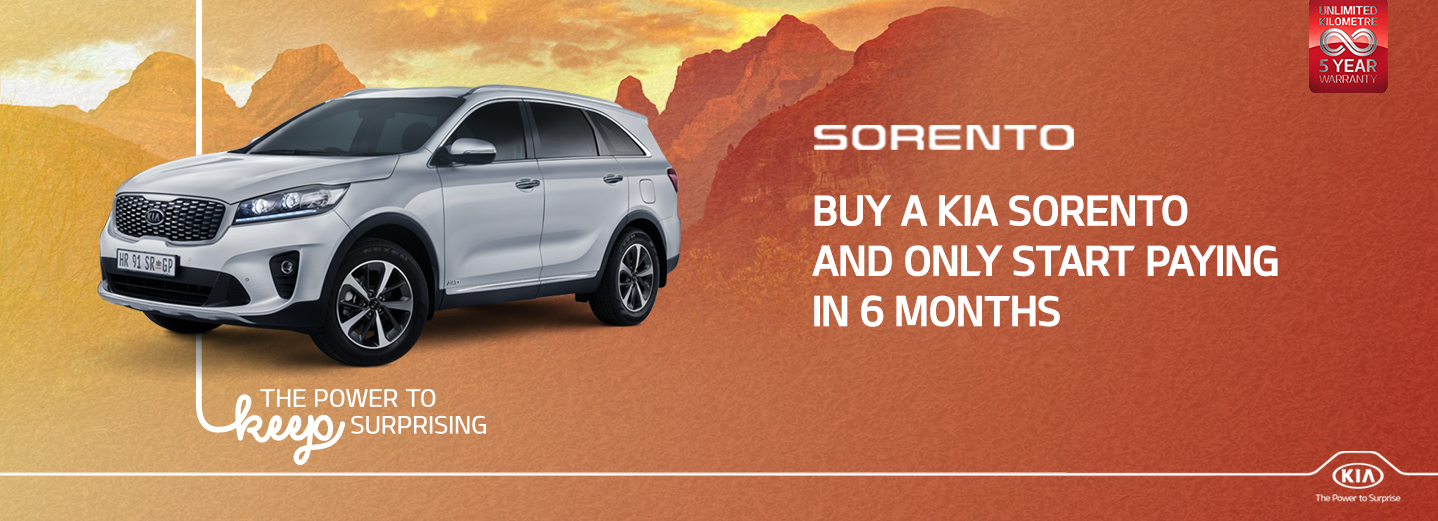 Sorento Holiday Promo July 2020
