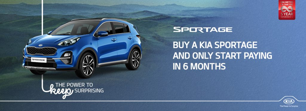 Sportage Holiday Promo July 2020